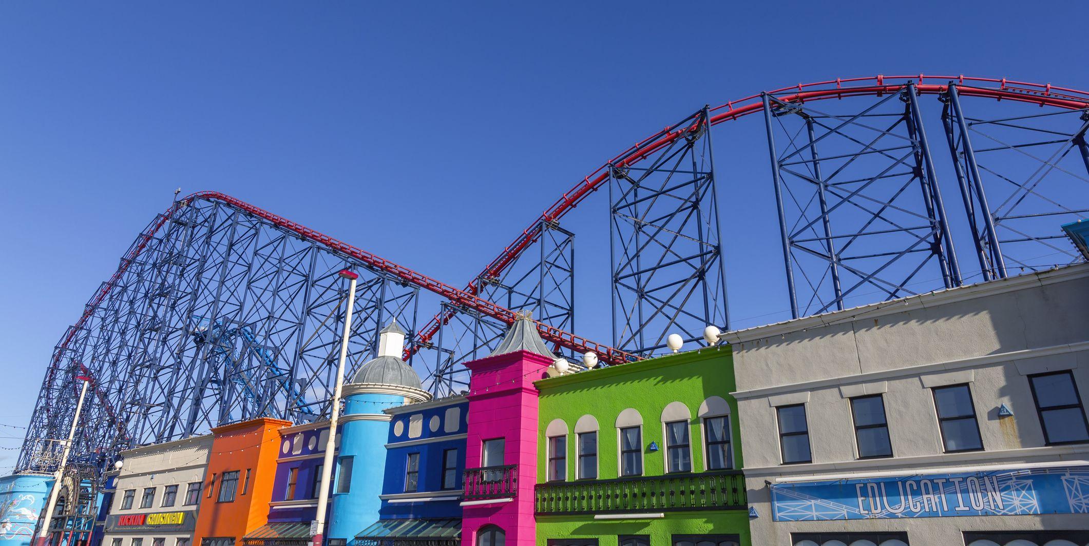 Blackpool theme park