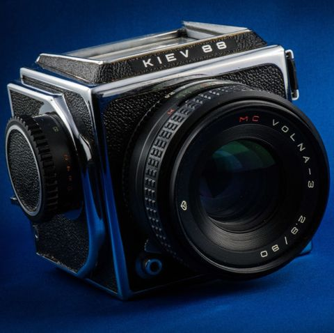 kiev 88 ttl camera with automatic zenit