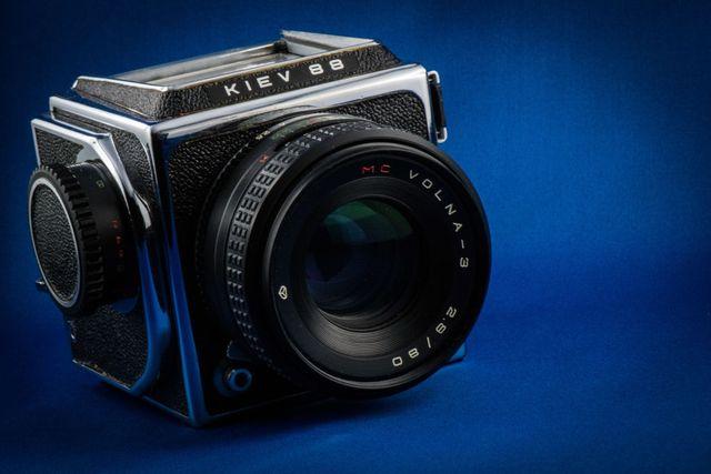 kiev 88 ttl camera with automatic zenit