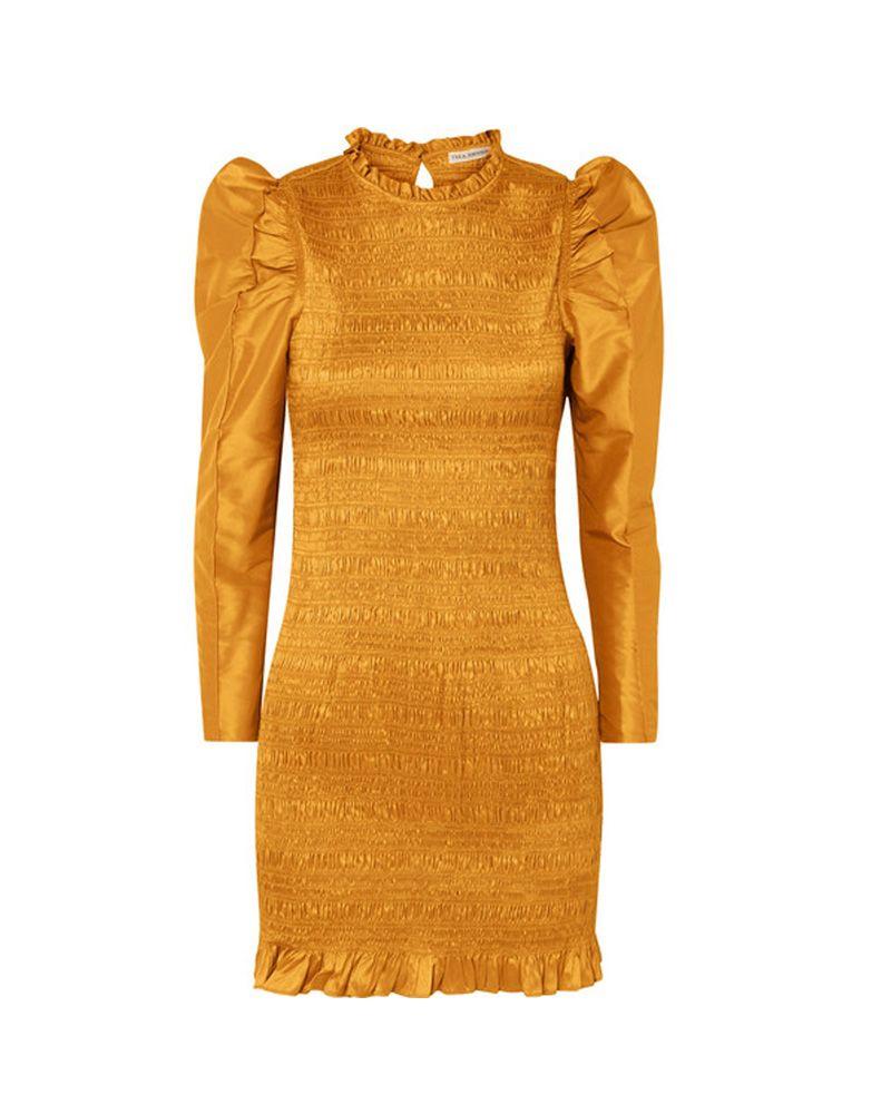 amal clooney royal wedding yellow dress