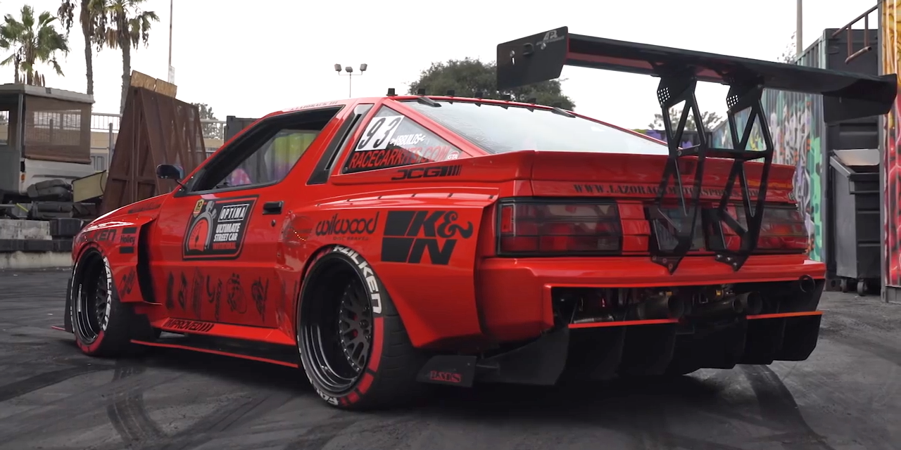 Heres What 22 Years Of Continuous Engineering Does To A Car Mitsubishi Starion Dodge Conquest