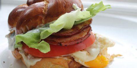 Food, Finger food, Cuisine, Sandwich, Dish, Ingredient, Meal, Breakfast, Bun, Baked goods,