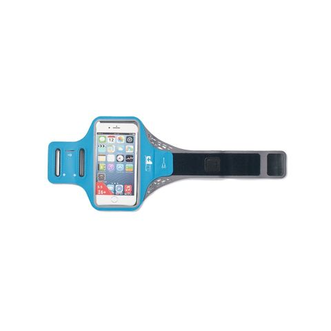 ultimate performance ridgeway armband blauw sportarmband telefoonhouder