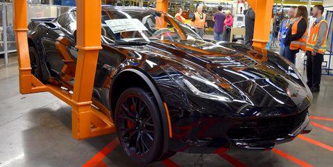 El último Corvette C7 sale de fábrica