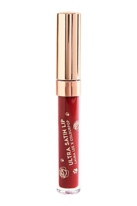 Cosmetics, Red, Product, Lip gloss, Beauty, Liquid, Lip care, Material property, Lipstick, Gloss,