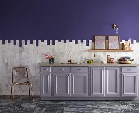 Valspar Launches Pantone S Ultra Violet In B Q Stores Pantone S