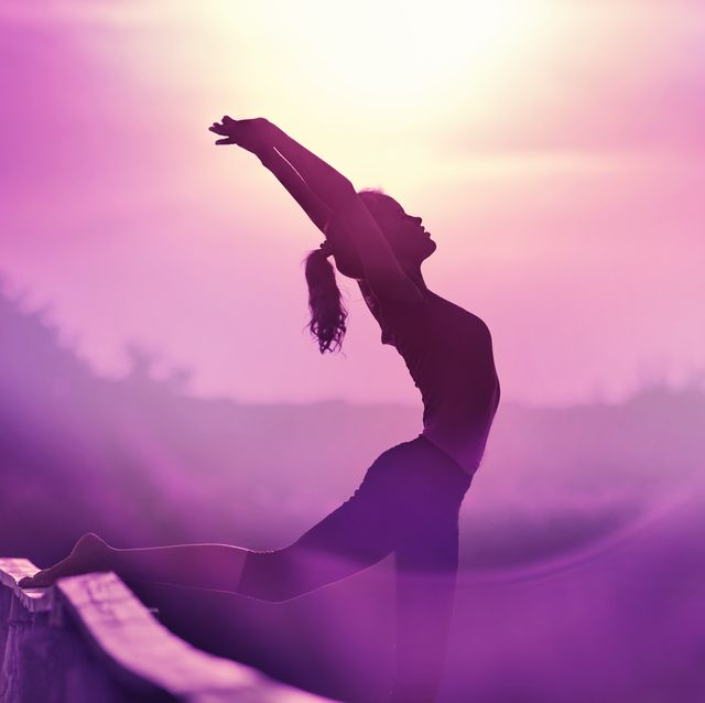 ultra violet yoga exercise