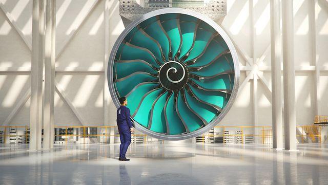 rolls royce ultrafan engine