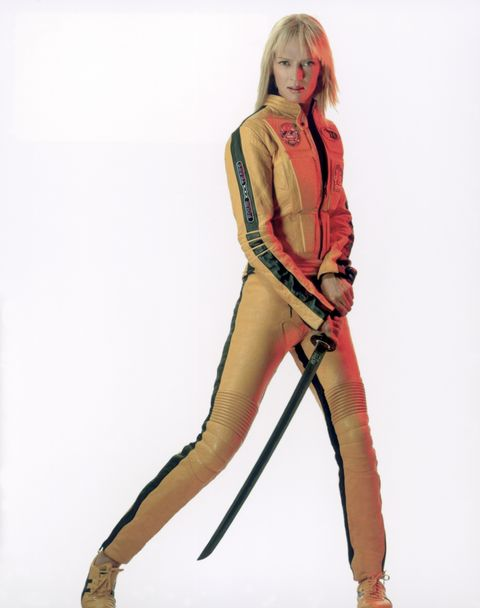 hollywood screen goddess, uma thurman stars in kill bill volume 1 directed by quentin tarantino in 2003 photo by sunset boulevardcorbis via getty images