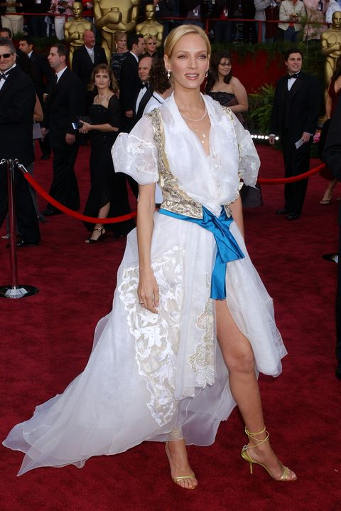 Oscars Outfits That Didn't Quite Work - Uma Thurman