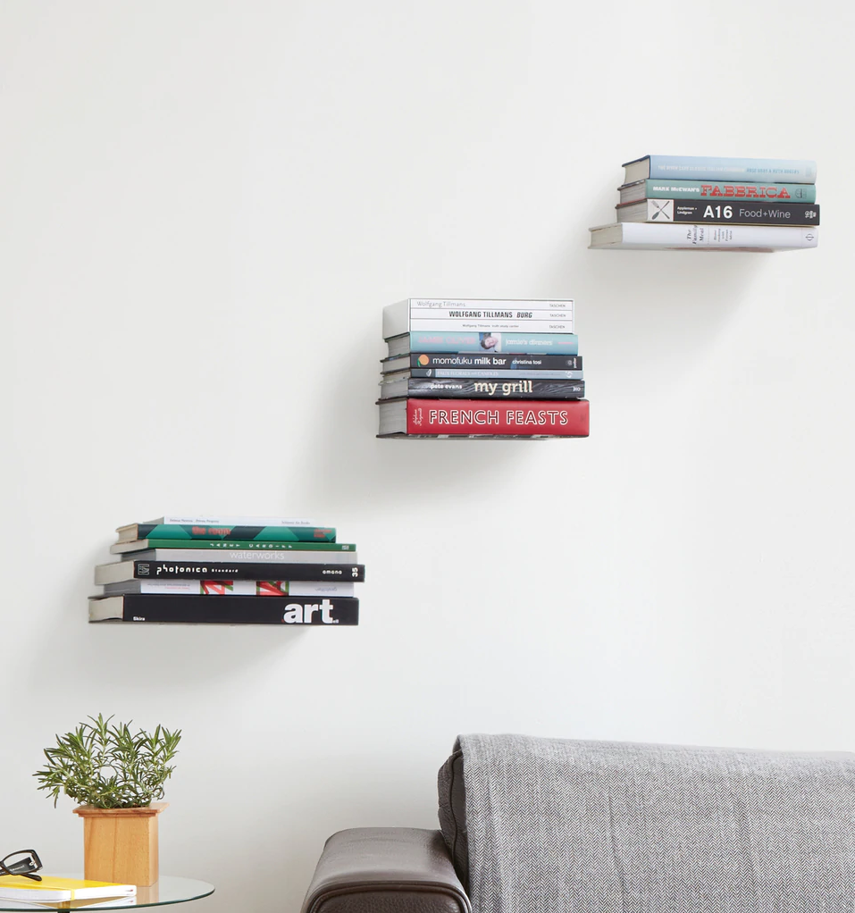 You Need This $15 Naked Floating Bookshelf—And 1,000 Reviews Agree