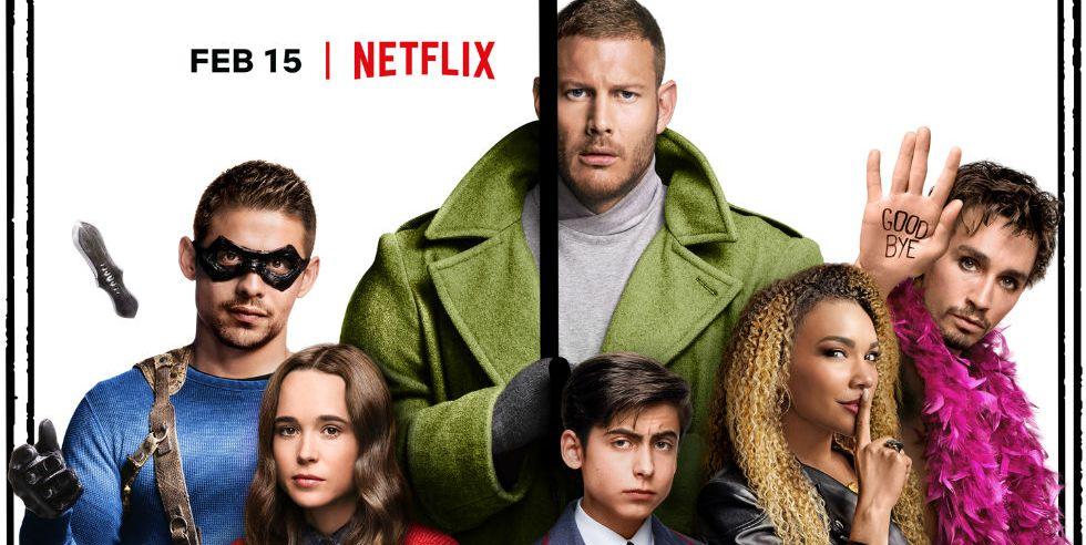 The Umbrella Academy - on Netflix
