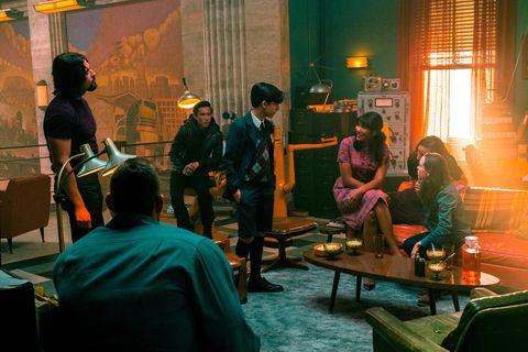 diego, ben, five, allison, klaus, vanya, luther, the umbrella academy season 2