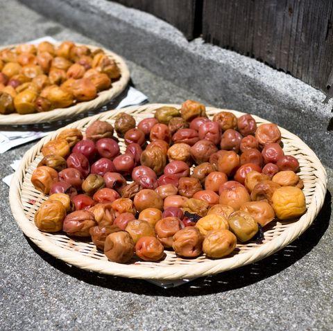 umeboshi, pickled japanese plums