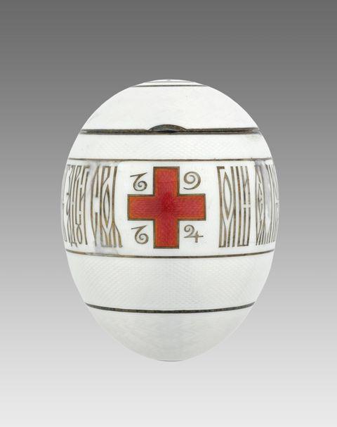 The Red Cross Egg