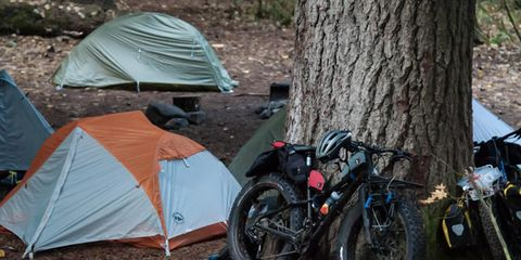 Bikepacking in Oregon
