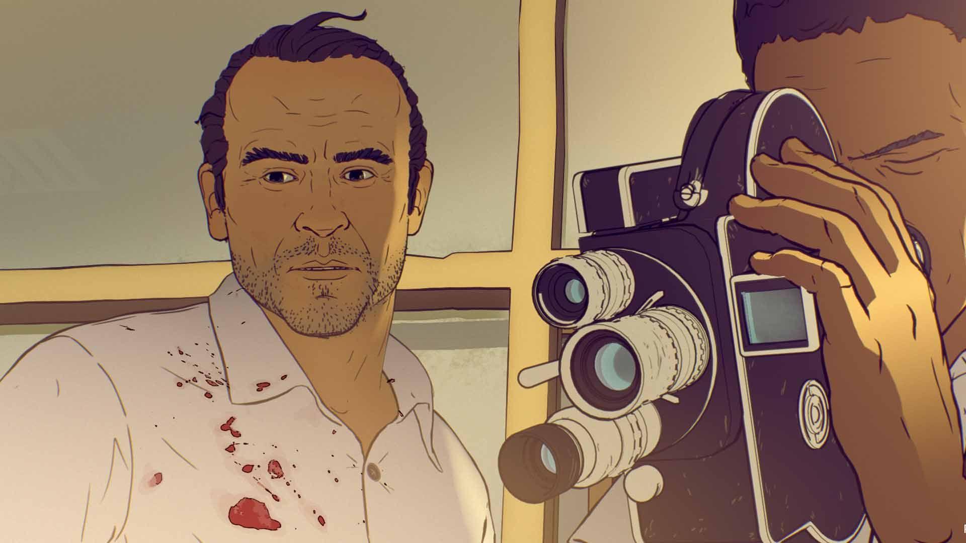 Resultado de imagen de Un día más con vida de Raúl de la Fuente, Damian Nenow