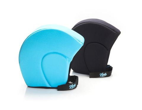 Aqua, Plastic, Turquoise, Azure, Teal, Costume accessory, Synthetic rubber, Cleanliness,