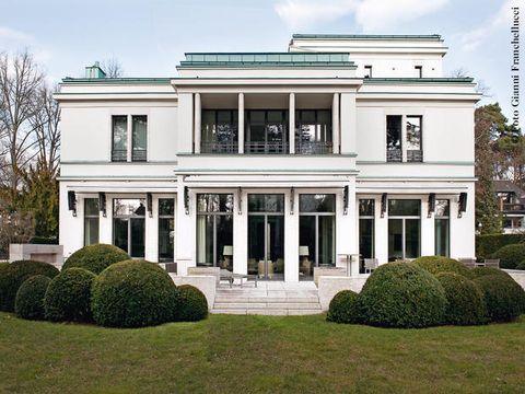 Una villa nella zona residenziale a ovest di Berlino