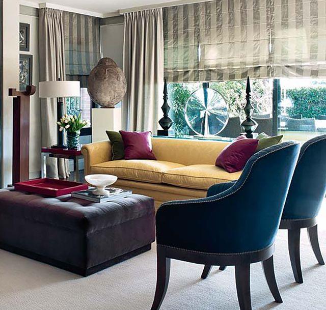 piso madrileño con mezclas deco sorprendentes   salón con chimenea