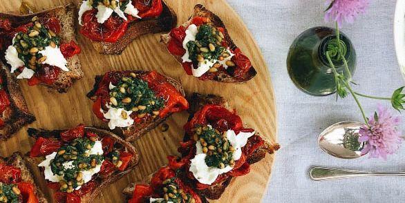 Three bruschetta recipes for summer dining