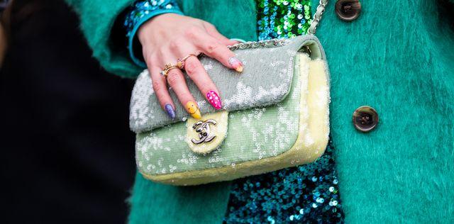 manicura tendencia mix and match uñas ideas