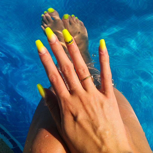 manicura de verano