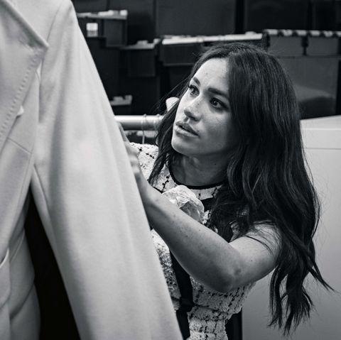 The Duchess of Sussex guest edits British Vogue