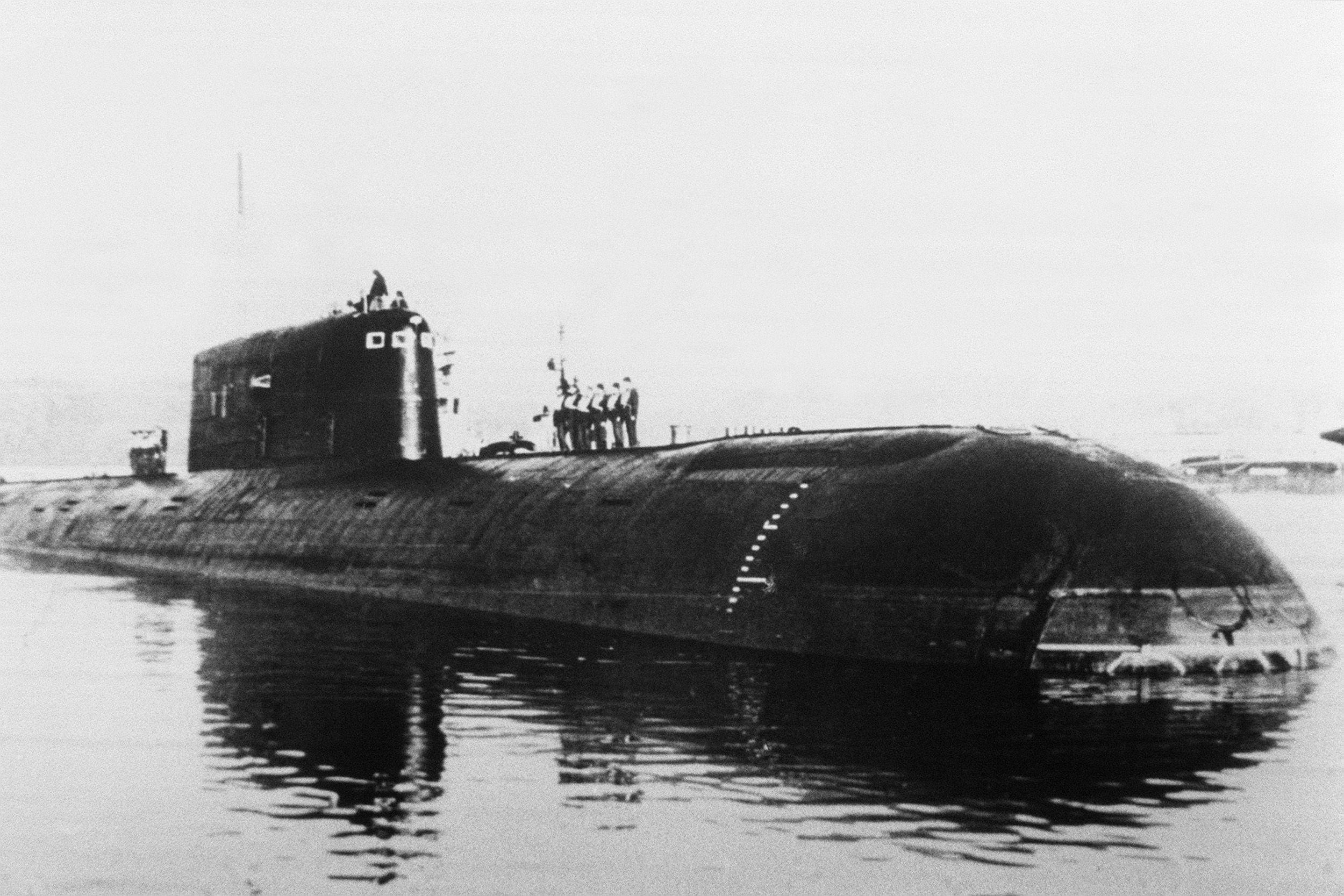 30 Years Later, a Sunken Soviet Sub Is Still Leaking Radioactivity