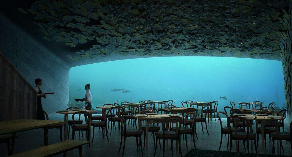 Một nhà hàng dưới nước sắp ra mắt ở châu Âu