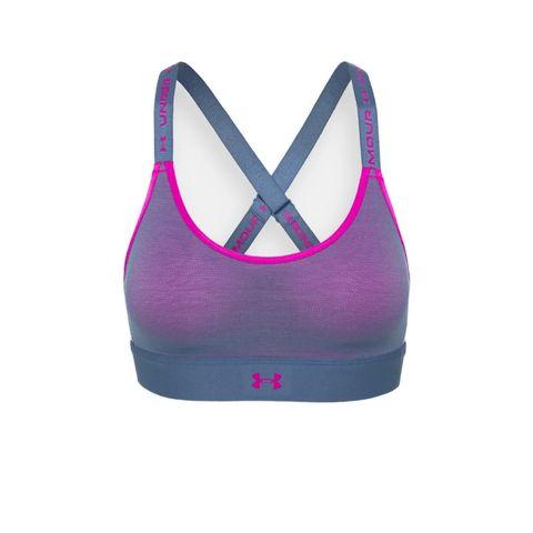 under armour infinity sportbh beha sportkleding ondergoed roze blauw