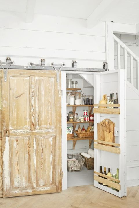 under stair storage pantry