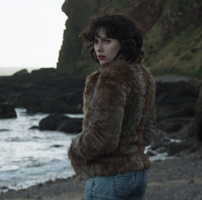 Under the Skin Scarlett Johansson's alien is sent to earth to lure Scottish men back into her apartment, where they enter a black void.