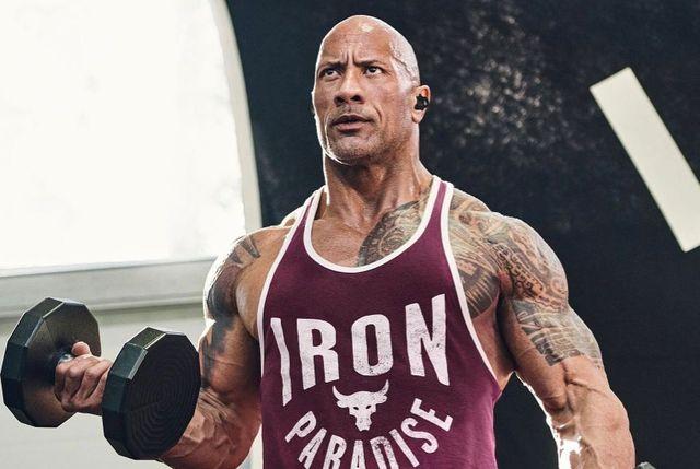 the rock con under armour