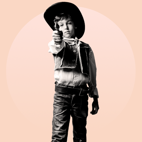 Standing, Black-and-white, Child, Photography, Monochrome, Headgear, Jeans, Style, Hat, Child model,