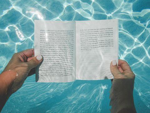 Text, Aqua, Hand, Finger, Font, Book, Paper,