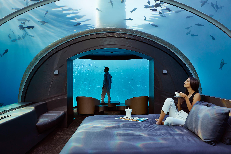 The Muraka Opens Inside The World S First Underwater Hotel