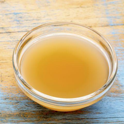 unfiltered, raw apple cider vinegar