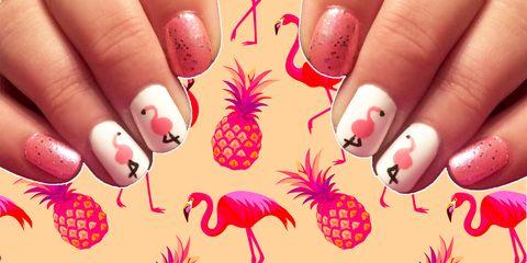 Unghie Estate 2018 Le Flamingonails Sono Il Trend Divertente