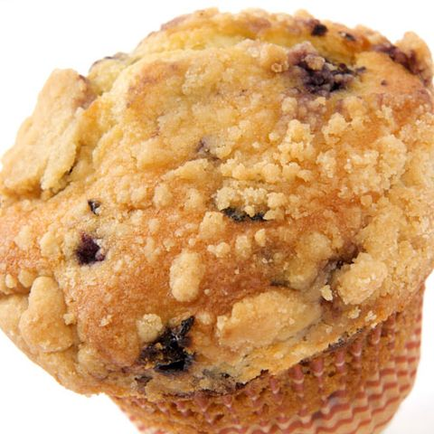 You Start Your Morning with a Blueberry Muffin