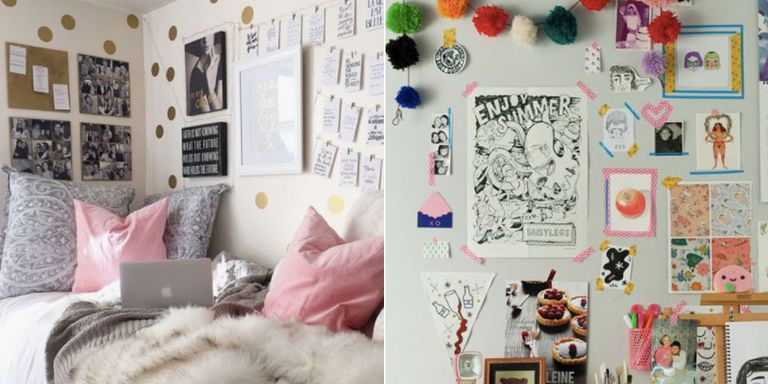 Dorm Room Ideas Pink And Navy