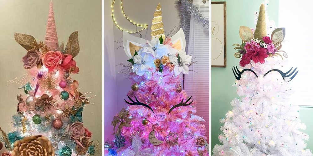 Unicorn Trees Make Christmastime Even More Magical