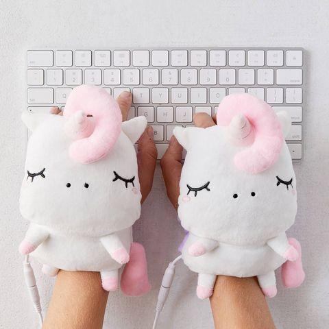 unicorn hand warmers