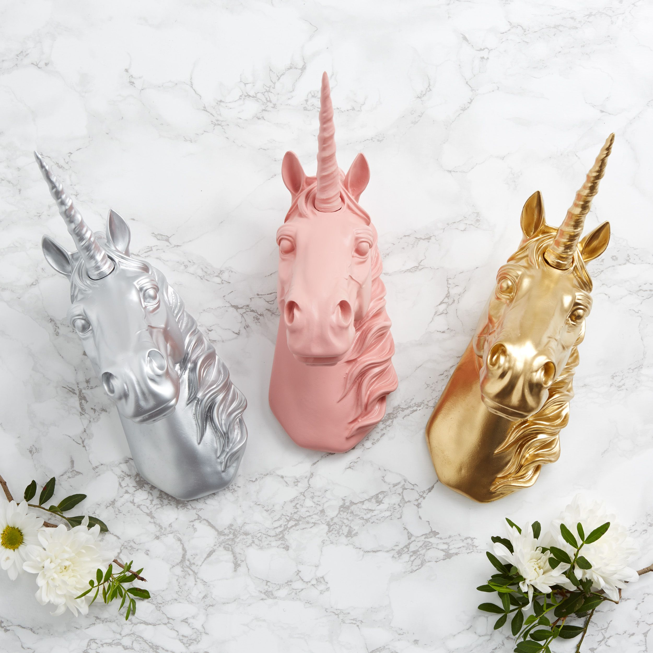 Unicorn head by Magpie Decor, Notonthehighstreet.com