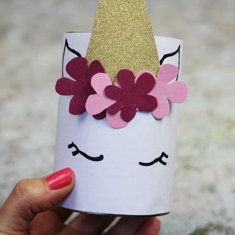 make your ownUnicorn pen pot