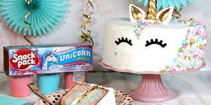 Unicorn pudding fromSnack Pack