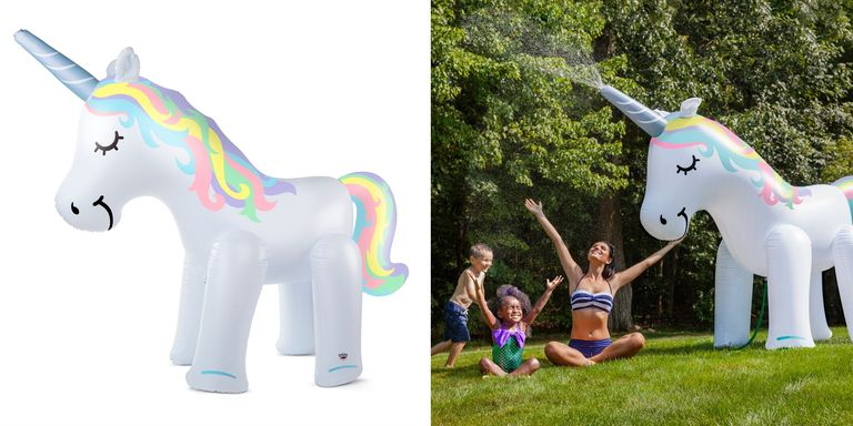 This Ginormous Unicorn Sprinkler Is A Must Have For Summertime