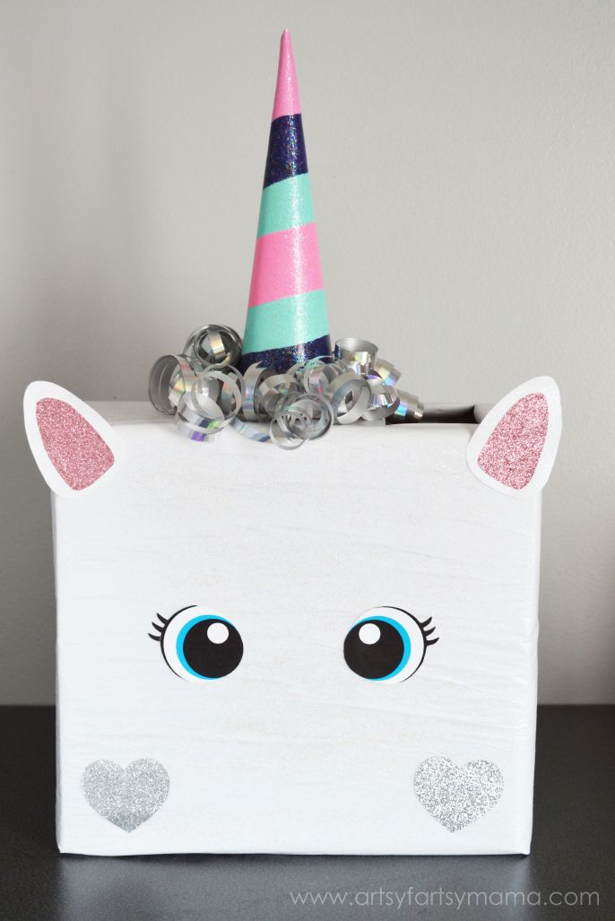 Unicorn - Valentine Boxes