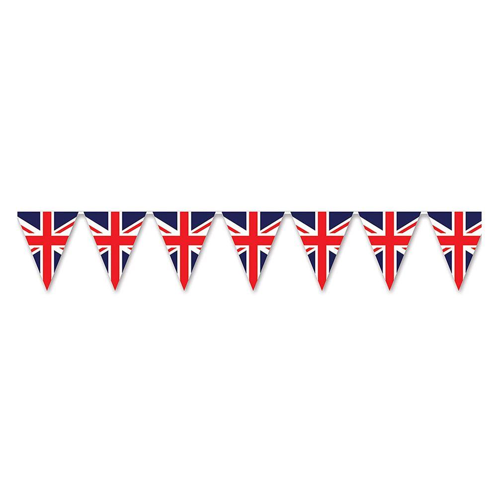 Beistle Union Jack Pennant Banner