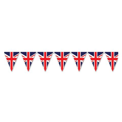 Beistle Union Jack Pennant Banner